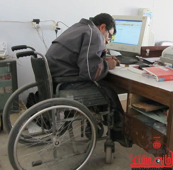 ناگفته های معلول رفسنجانی به مسئولین شهرش