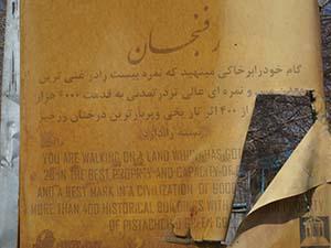 صنایع دستی رفسنجان در برج میلاد پایتخت