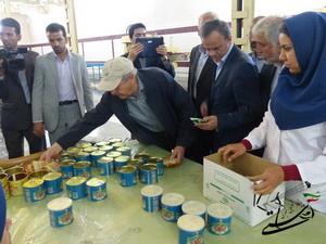 گزارش تصویری بازدید استاندار و هیئت همراه از شرکت تعاونی تولید کنندگان پسته رفسنجان