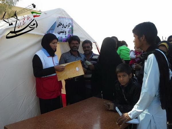 اعزام تیم بسیج جامعه پزشکی رفسنجان به منطقه محروم فهرج
