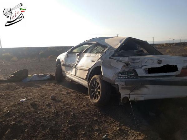 دو کشته در حادثه کیلومتر  10 محور سرچشمه