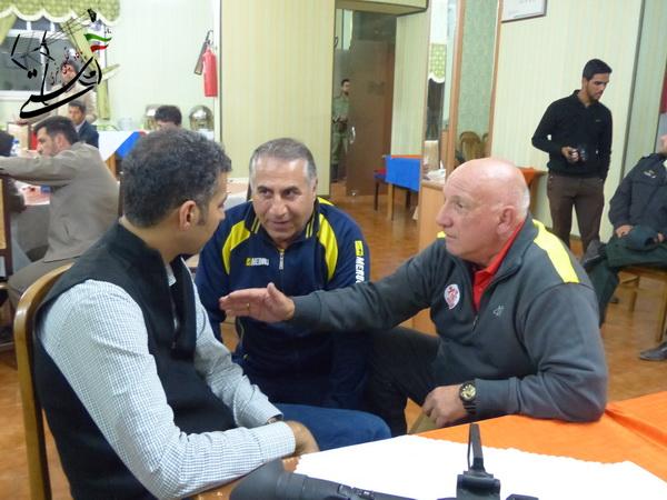 عکسهای منتخب میزبانی رفسنجان، از تیم فوتبال رسانه ورزش