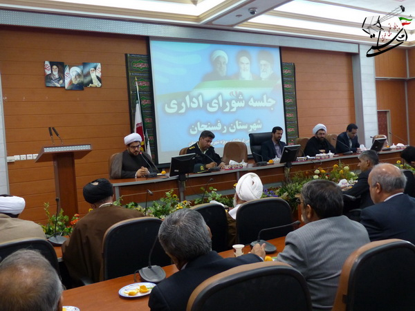 برگزاری سومین سالگرد رحلت حجتالاسلام هاشمیان در رفسنجان