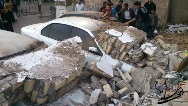 حادثه در پارکینگ جنب مسجد حاج شریف + عکس