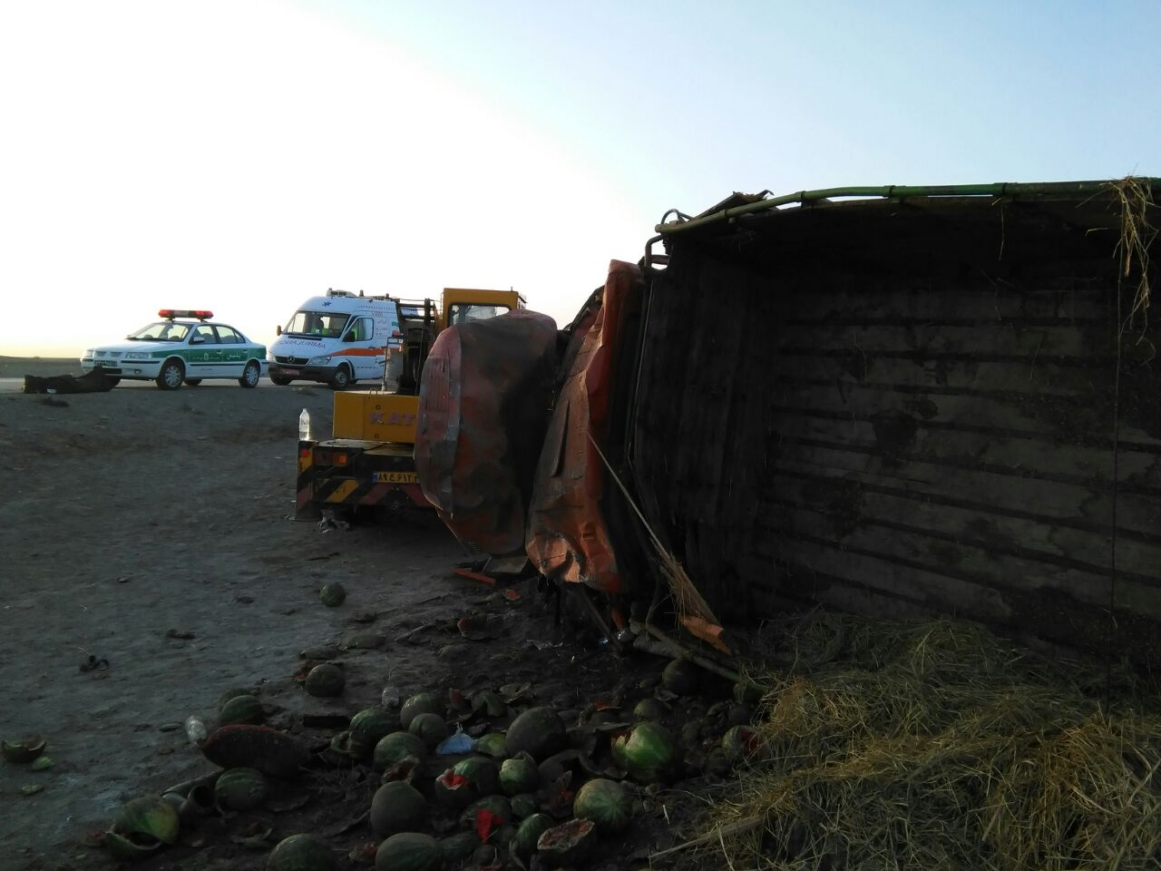 واژگونی کامیون یک کشته بر جای گذاشت