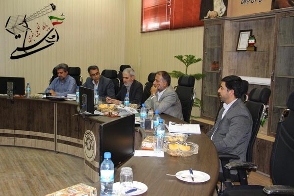 نشست خبري شوراي اسلامي شهر رفسنجان در محل شوراي شهر