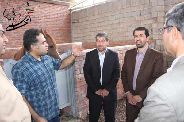 افتتاح دو طرح کشاورزی و دامپروری در رفسنجان