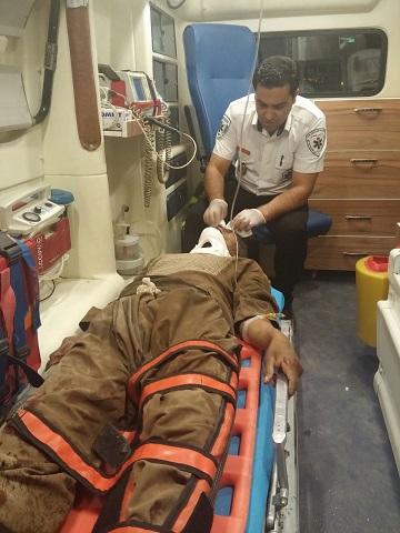 تصادف زنجیرهای در محور کرمان- رفسنجان با ۴ کشته و مصدوم