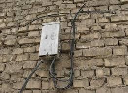 عدم رسیدگی به مشکل قطعی تلفن در کریم آباد علیا و بهانه های چندگانه مسئول مربوطه