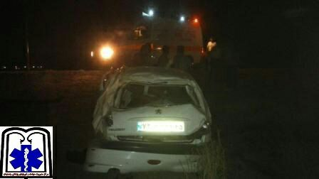 حادثه در جاده انار و ۵ کشته و زخمی