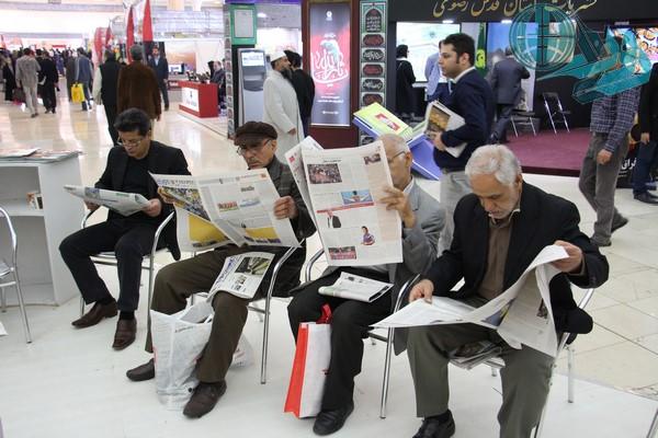 گذری اجمالی بر بازدید خبرنگاران رفسنجان از بیست و دومین نمایشگاه مطبوعات کشور