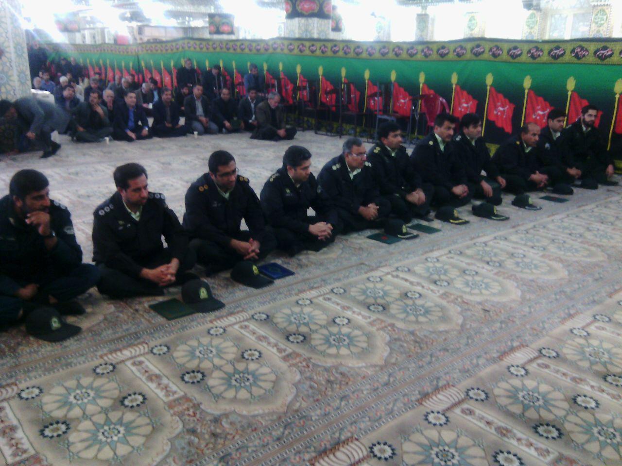 مراسم هفتم حجت الاسلام پورمحمدی برگزار شد
