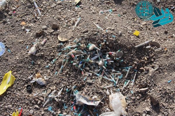 گزارش دو هفته نامه سمن با موضوع زباله های عفونی در رفسنجان