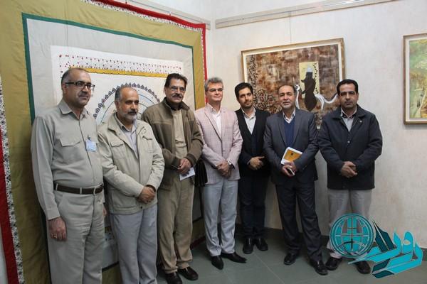 افتتاح نمایشگاه آینه دار دوران در سرچشمه/عکس