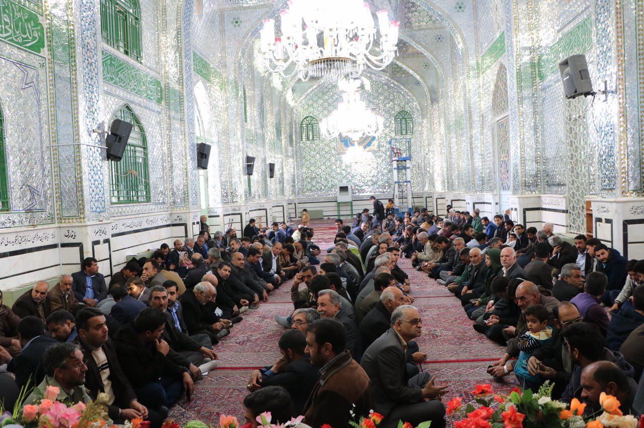 جشن میلاد حضرت زینب و تجلیل از پرستاران توسط موکب خاتم الانبیا در رفسنجان/عکس