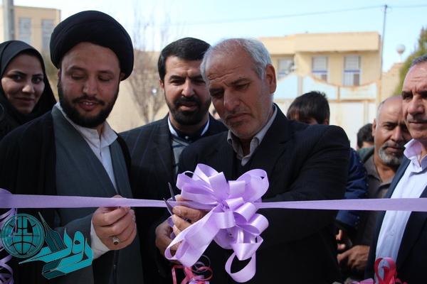 افتتاح و کلنگ زنی پروژه های بخش نوق رفسنجان/تصاویر