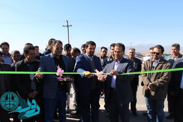 افتتاح و کلنگ زنی پروژه های بخش کشکوئیه/تصاویر
