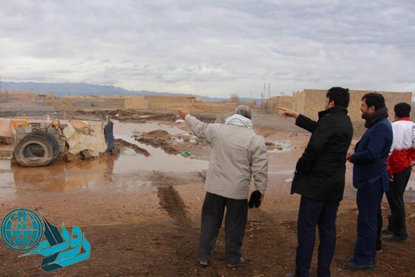 خسارت سیل به ۵ واحد مسکونی و تعدادی دامداری در ناصریه