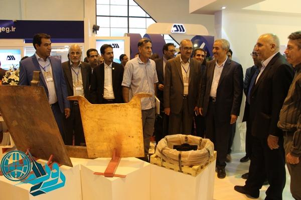 پنجمین نمایشگاه بینالمللی معدن و صنایع معدنی در کرمان گشایش یافت+ عکس