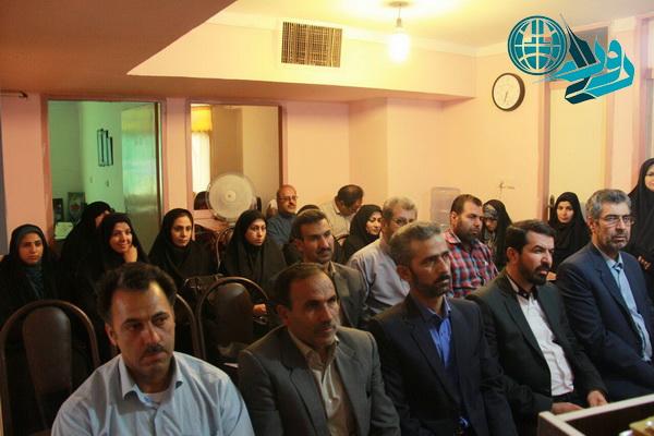 گردهمایی خبرنگاران رفسنجان برگزار شد