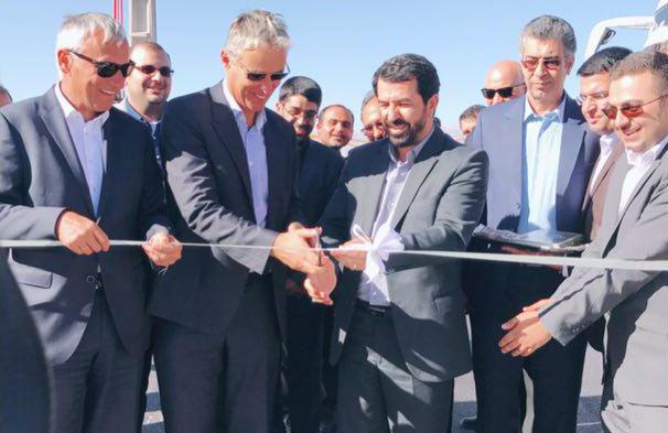 نیروگاه خورشیدی با ظرفیت ۱٫۲ مگاوات در رفسنجان افتتاح شد