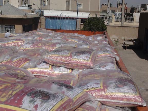 کشف ۲۴ تن برنج قاچاق در رفسنجان