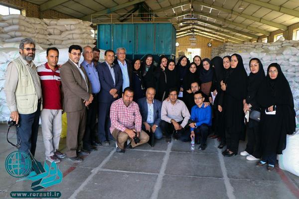 روایت تصویری از تور رسانه ای استان کرمان در رفسنجان