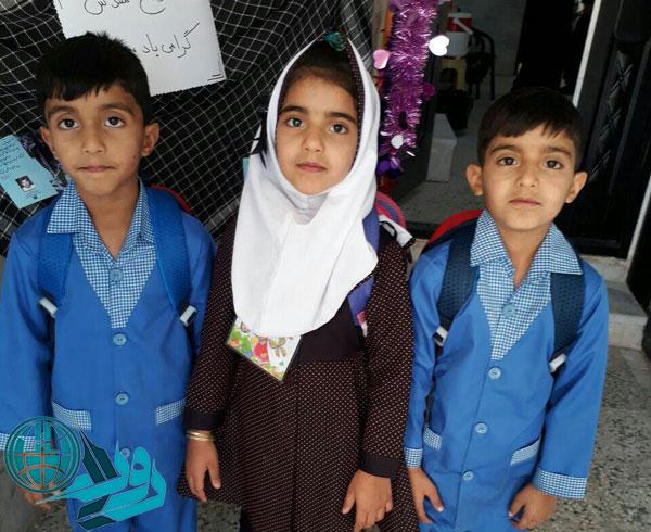 هدیه امام حسین به زوج رفسنجانی/سه قلوها وارد پیش دبستانی شدند