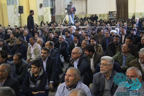 اولین سالگرد رئیس فقید مجمع تشخیص مصلحت نظام/تصاویر