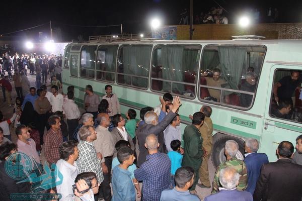 گردهمایی رزمندگان ۸ سال دفاع مقدس در رفسنجان/عکس