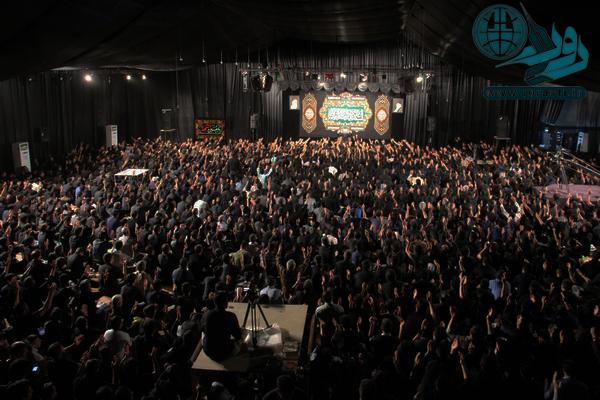 بزرگترین اجتماع شب قدر در هیأت کربلا رفسنجان/ عکس