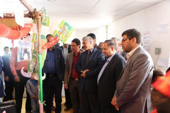 برپایی نمایشگاه مشترک تولیدات روستایی شهرستان های رفسنجان و انار