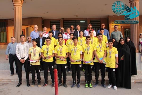 دانشآموزان رفسنجانی نایب قهرمان شدند+عکس