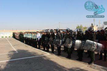صبحگاه مشترک نیروهای مسلح در رفسنجان+تصاویر