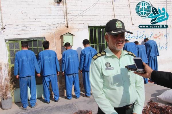 باند بزرگ سرقت در رفسنجان متلاشی شد+ عکس