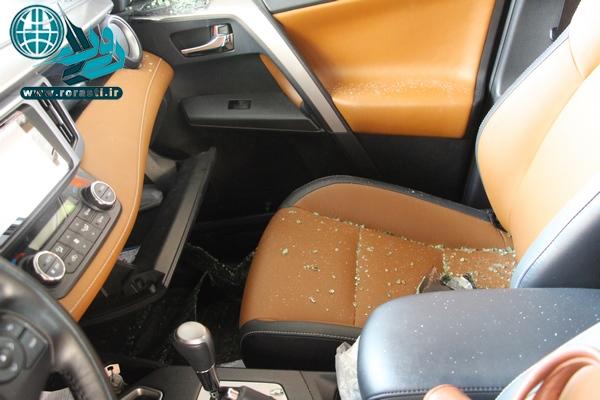 امنیت پزشکان متخصص به خطر افتاده است/شکستن شیشه خودرو پزشکان و سرقت اموال داخل خودروها+تصاویر