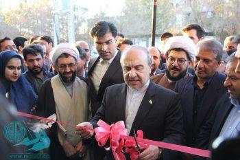 افتتاح ۵۷میلیارد ریال پروژه ورزشی با حضور وزیر ورزش در رفسنجان+تصاویر