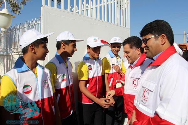 سفر رئیس جمعیت هلال احمر کشور به رفسنجان/افتتاح مجموعه ورزشی هلال احمر+تصاویر