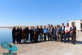 یک روز خوب برای خبرنگاران رفسنجان در جوادیه فلاح+تصاویر