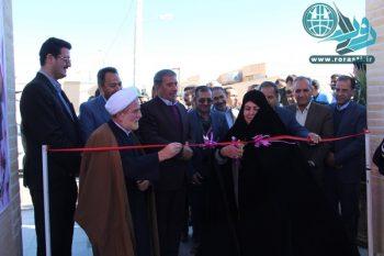 افتتاح و کلنگ زنی پروژه های بخش نوق/تصاویر