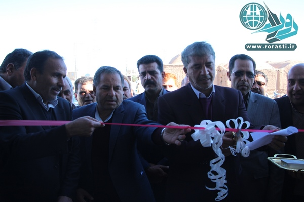 افتتاح و کلنگ زنی پروژه های بخش فردوس/تصاویر