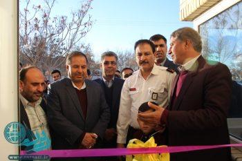 افتتاح پنجمین ایستگاه آتش نشانی در رفسنجان/افتتاح بوستان پونه/تصاویر