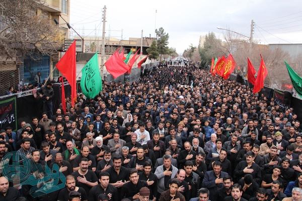 اجتماع بزرگ مردم رفسنجان/گزارش تصویری