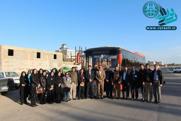 گزارش تصویری تور رسانه ای شهرداری رفسنجان