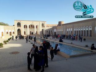 رشد ۵۰ درصدی استقبال از اماکن تاریخی رفسنجان/بزرگترین خانه خشتی جهان در صدر بازدیدها