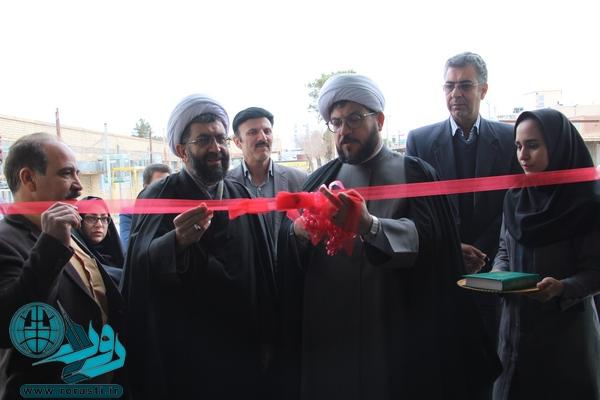 افتتاح نمایشگاه پنجمین جشنواره نوجوان خوارزمی در رفسنجان/تصاویر