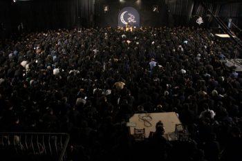 بزرگترین اجتماع شب قدر در حسینیه نخل رفسنجان/تصاویر