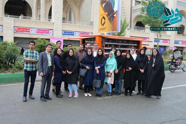 بازدید خبرنگاران رفسنجان از نمایشگاه کتاب تهران و مجلس/ تصاویر