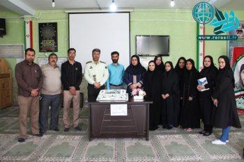 پاسداشت نیروی انتظامی به سبک خبرنگاران رفسنجان/تصاویر