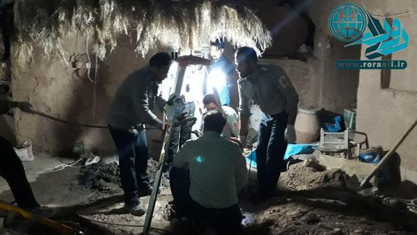 مرگ دو تبعه افغانستانی در قاسم آباد درون چاه+عکس